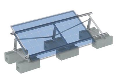 Examples of fitting on flat roofs