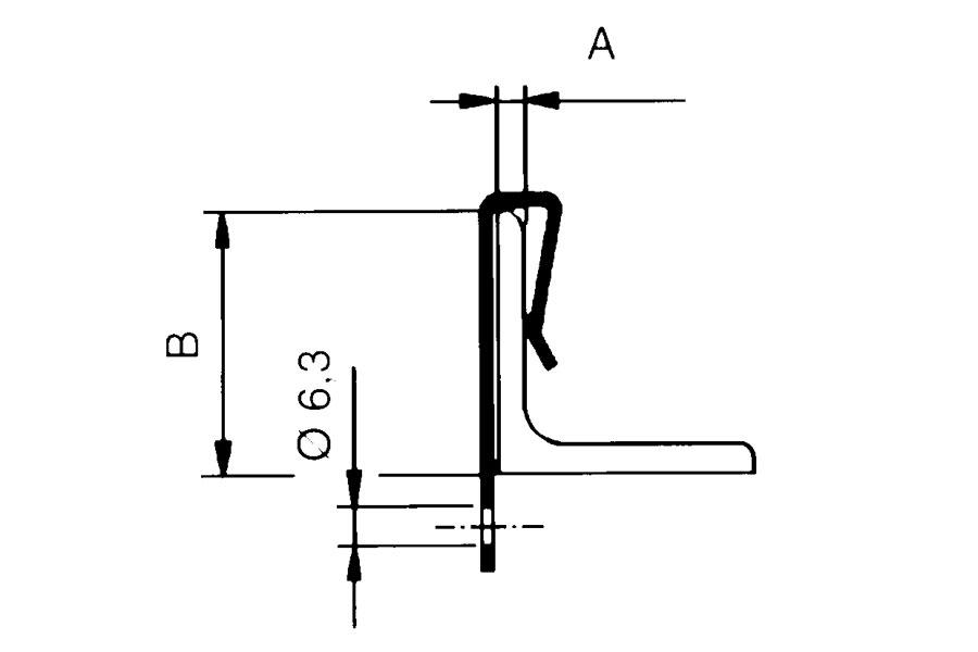 Vertical Clip Hook