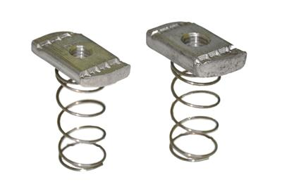 Stainless steel nuts for Strut channels