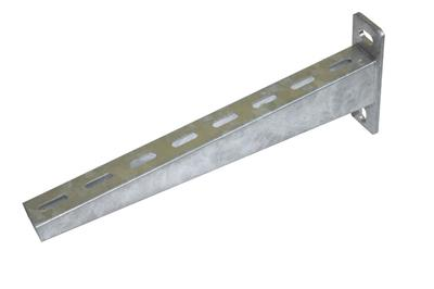 Shaped cantilever - electrolytic galvanizing