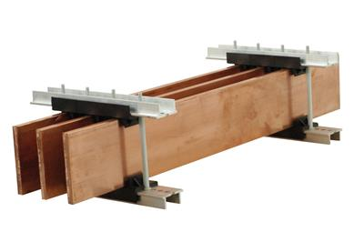 Universal busbar support Ω TOP
