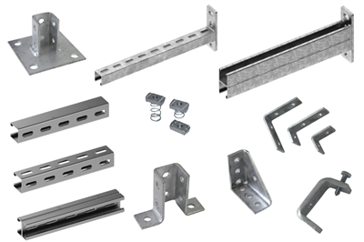 Profiles cantilever brackets