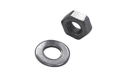 Hexagonal nuts with washer