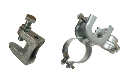 Cast iron beam clamps