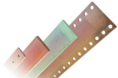 Copper and aluminum busbars