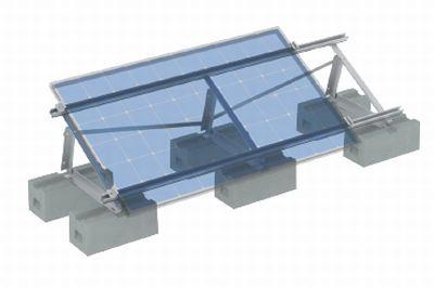 Structure flat roofs