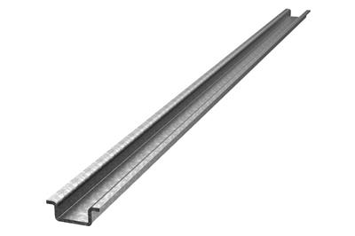 Rails in passivated galvanized steel