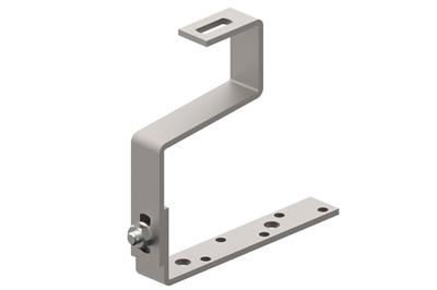 Adjustable R - type bracket