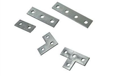 Galvanized steel brackets