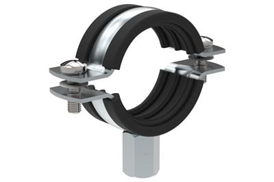 Pipe G - EPDM insulated pipe clamps