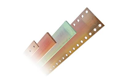 Copper and Aluminium busbars