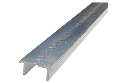 Aluminium support channel and insulating blocks Ω TOP