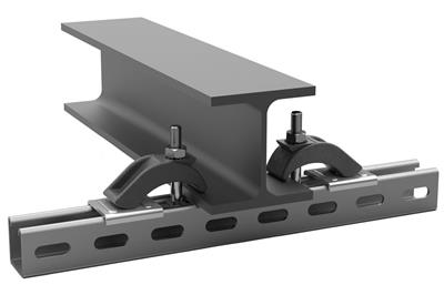 Heavy clamp for steel beam - G type