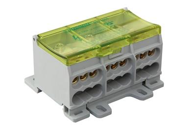 3 pole compact distribution blocks
