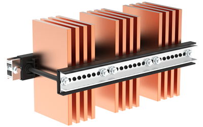 Busbar supports certified for Icw up to 120 kA