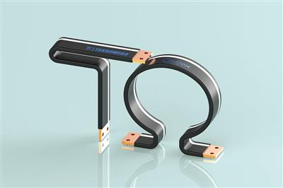 Insulated copper flexible bars Co-flex